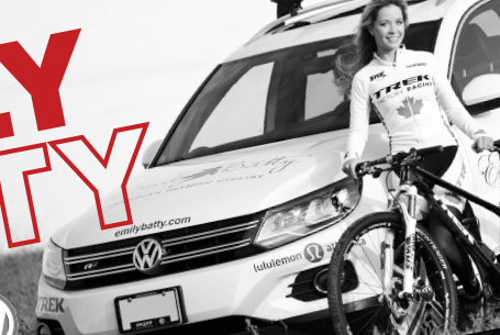 Emily Batty, Canadian Cross-Country Mountain Biker – Sponsorship Proposals, Mailer, Website