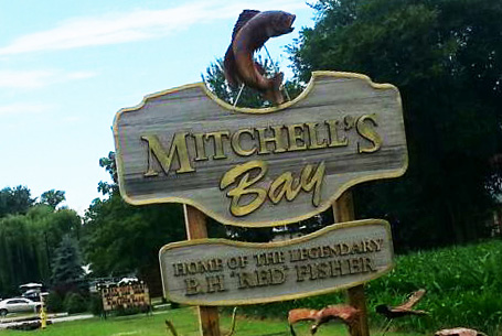 Custom Design Community Sign – Mitchell's Bay