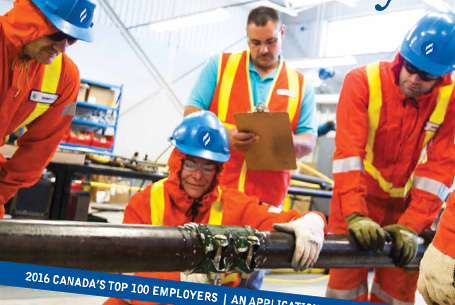Union Gas Application Supplement for Canada's Top 100 Employers