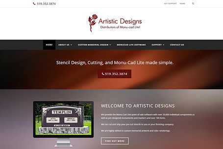 Artistic Design – Website Design