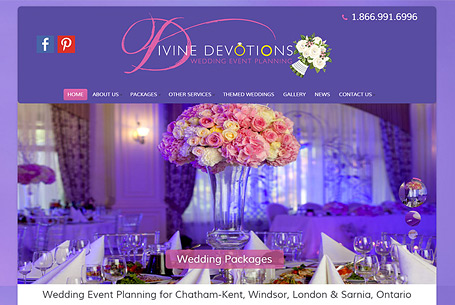 Divine Devotions – Website Design