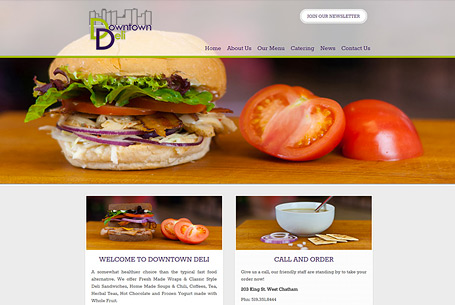 Downtown Deli – Website Design