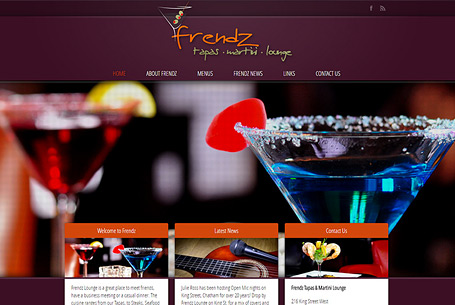 Frendz – Website Design