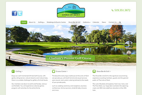 Links Of Kent – Website Design