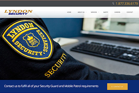 Lyndon Security – Website Design