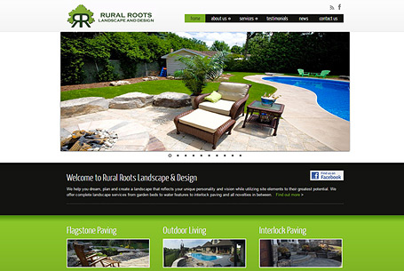 Rural Roots – Website Design