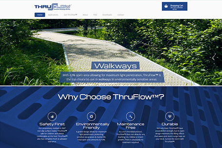 Thruflow – Website Design
