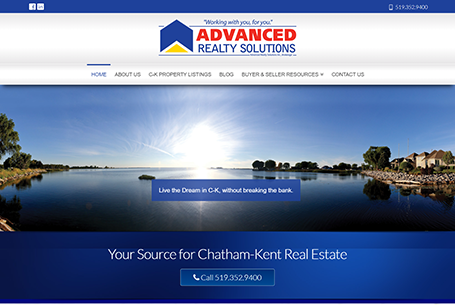 Advanced Realty Solutions – Website Design